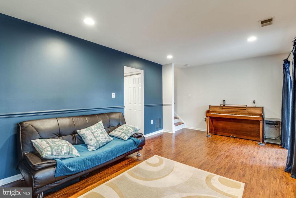 Lower Level Family Room - 47597 COMER SQ, STERLING