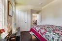 1st Bedroom on Main Entrance Level - 23109 COTTONWILLOW SQ, BRAMBLETON