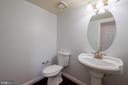 Main level Powder Room - 206 PRIMROSE CT SW, LEESBURG