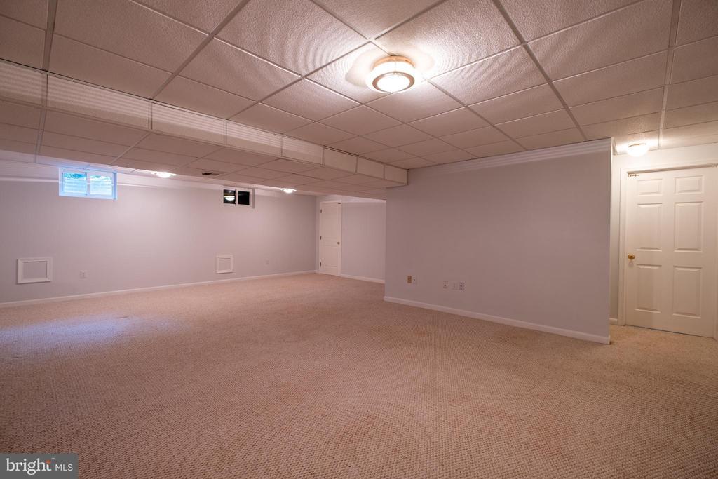 Very large Recreation Room - 206 PRIMROSE CT SW, LEESBURG