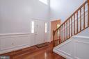 Spacious foyer - 206 PRIMROSE CT SW, LEESBURG