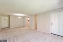 living room/dining room combo view 2 - 3813 SWANN RD #1, SUITLAND