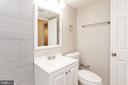 master bathroom view 2 - 3813 SWANN RD #1, SUITLAND