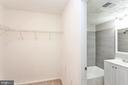 master bedroom walk-in closet - 3813 SWANN RD #1, SUITLAND