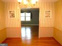 View Dining Room to Living Room - 9894 PAR DR, NOKESVILLE