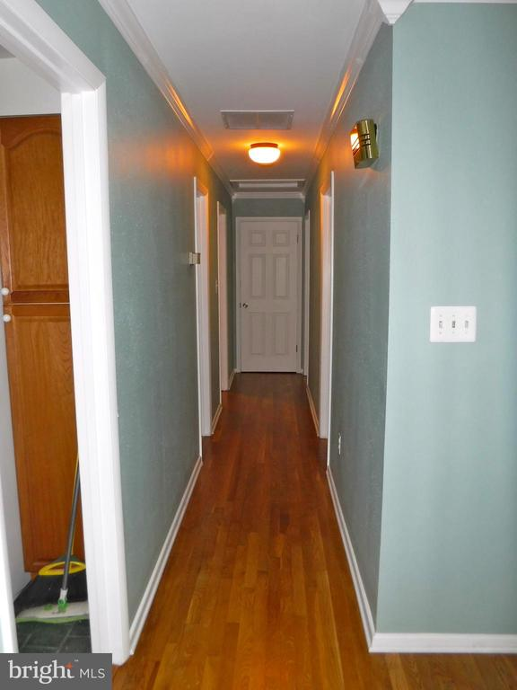 Main hall to bedrooms - 9894 PAR DR, NOKESVILLE