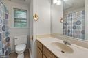 Hall bathroom - 535 MT PLEASANT DR, LOCUST GROVE