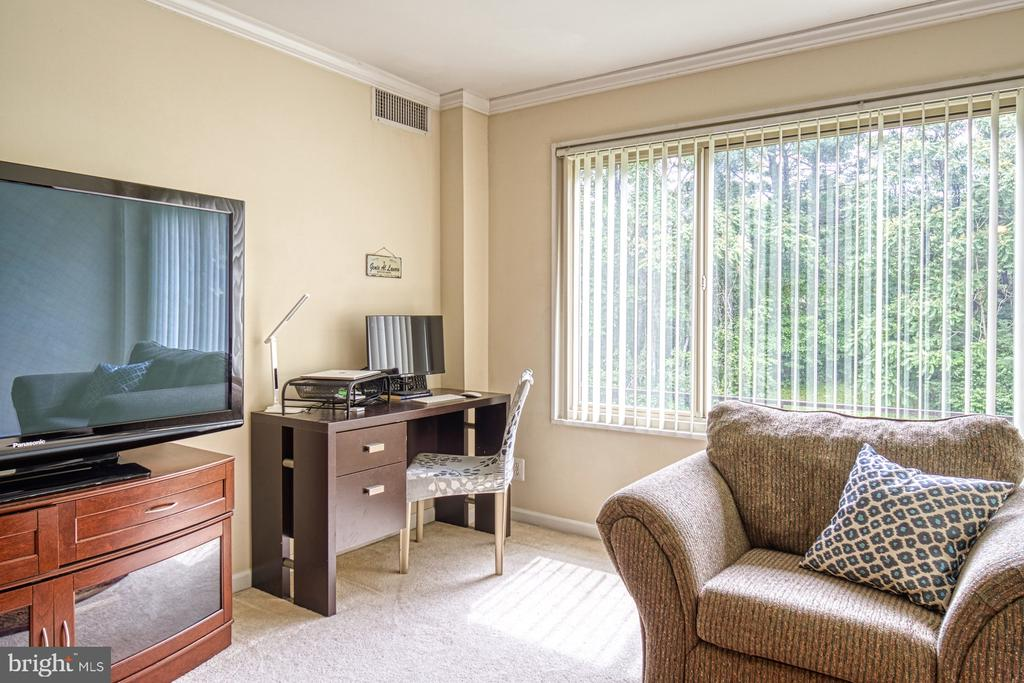 Plenty of space in living room for multi-uses - 10570 MAIN ST #325, FAIRFAX