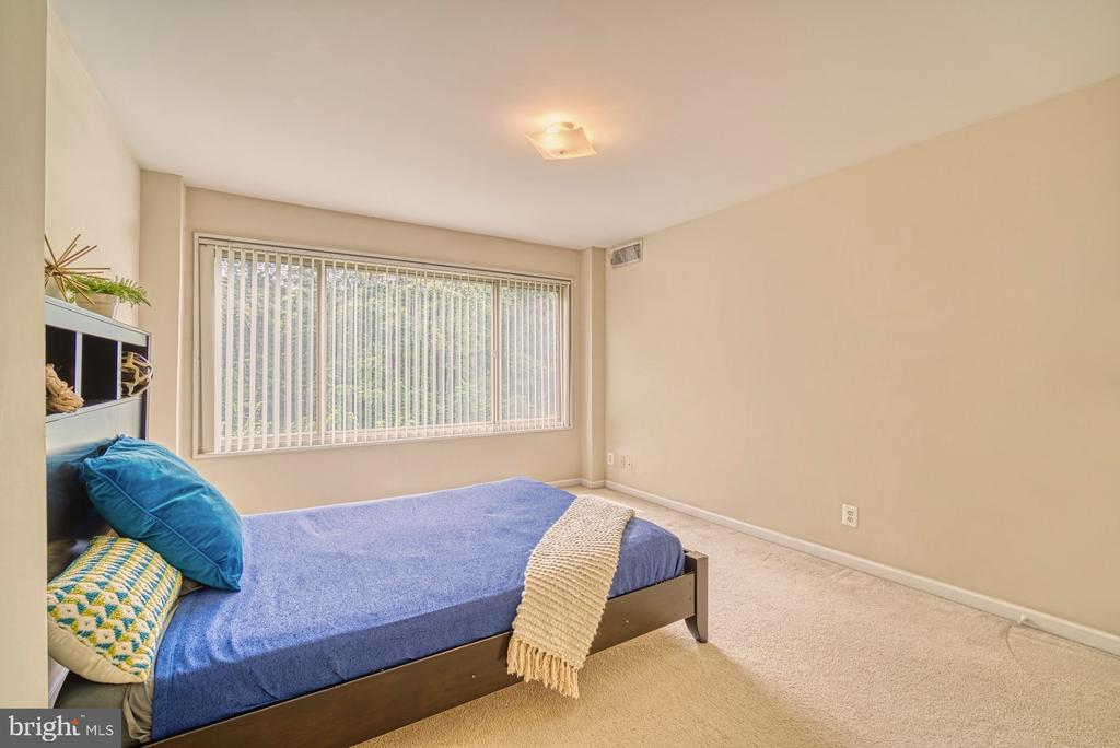 Master with views of trees - 10570 MAIN ST #325, FAIRFAX