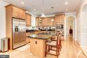 Beautiful Gourmet Kitchen - SS Appliances - 16215 CYPRESS CT, DUMFRIES