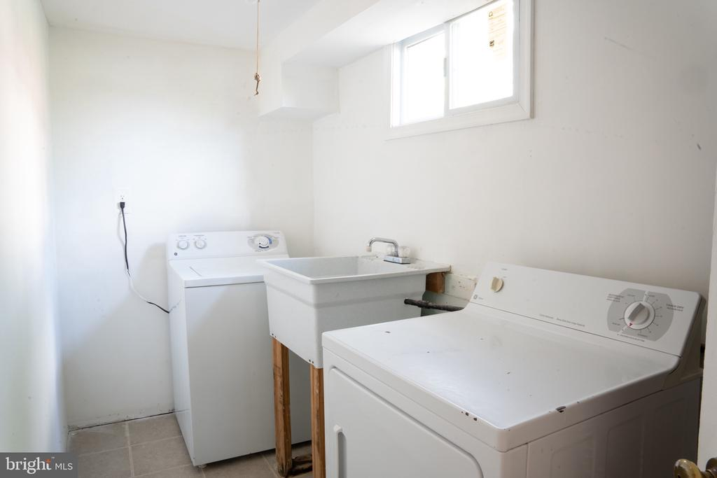 Laundry room located in the basement - 12501 CONNECTICUT AVE, SILVER SPRING