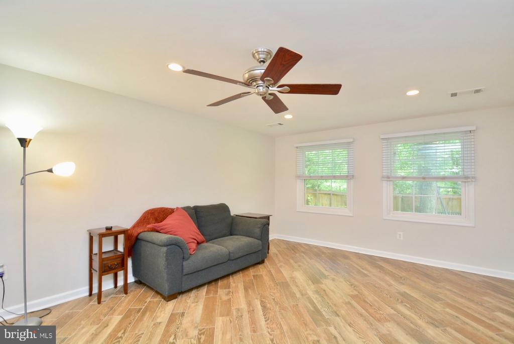 Lower level rec room/n law suite - 7701 HEMING PL, SPRINGFIELD