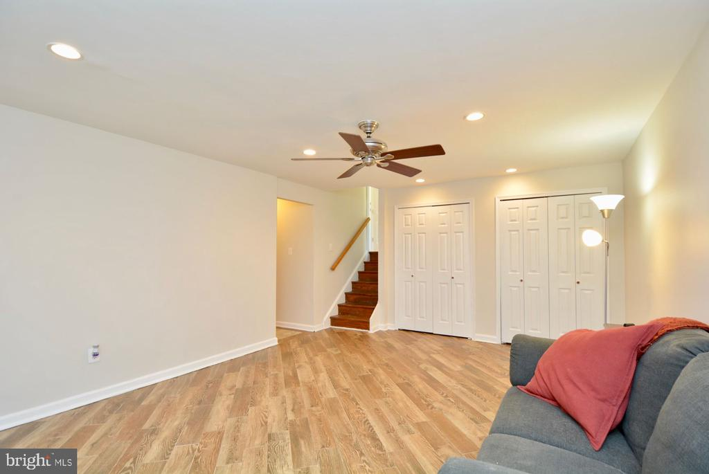 Lots of closet space in lower level rec room - 7701 HEMING PL, SPRINGFIELD