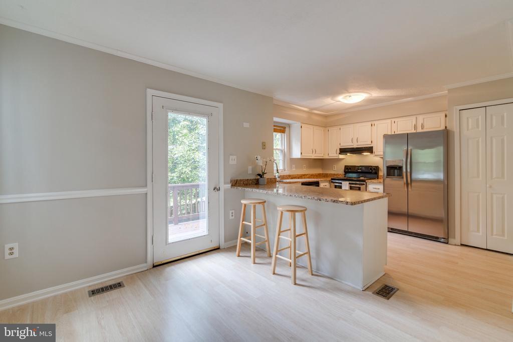 Kitchen - 15415 BEACHWATER CT, DUMFRIES