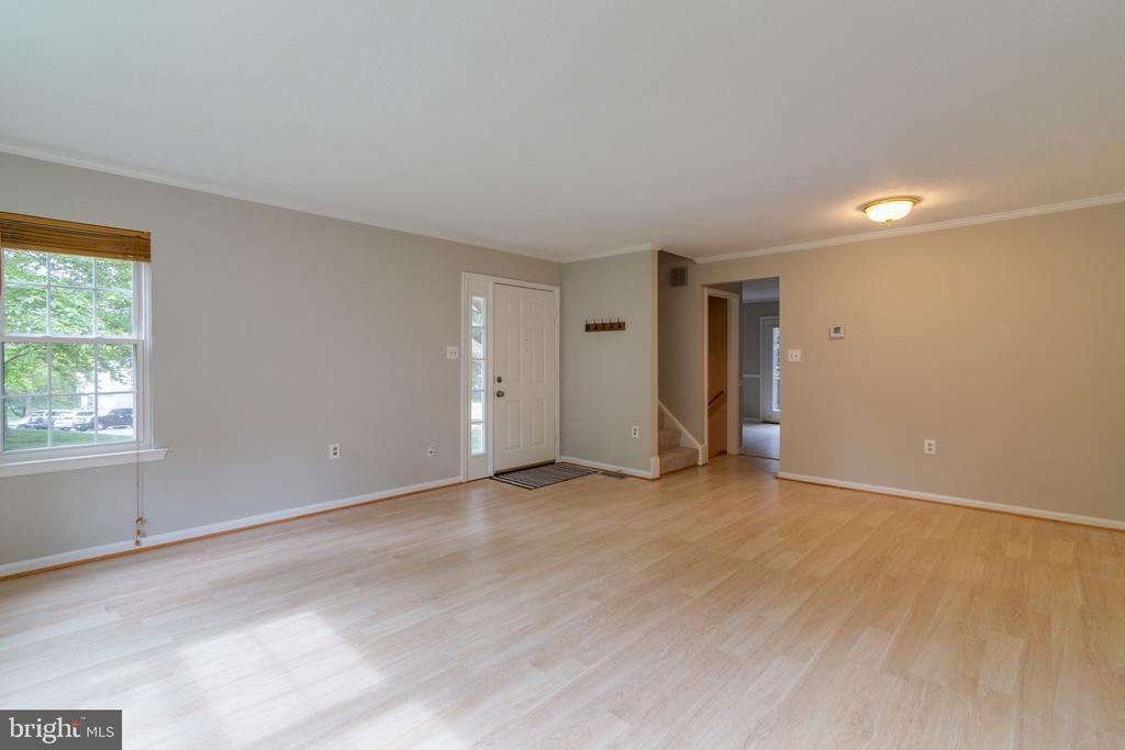 Living Room - 15415 BEACHWATER CT, DUMFRIES