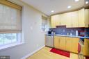 Kitchen - 3740 39TH ST NW #B152, WASHINGTON