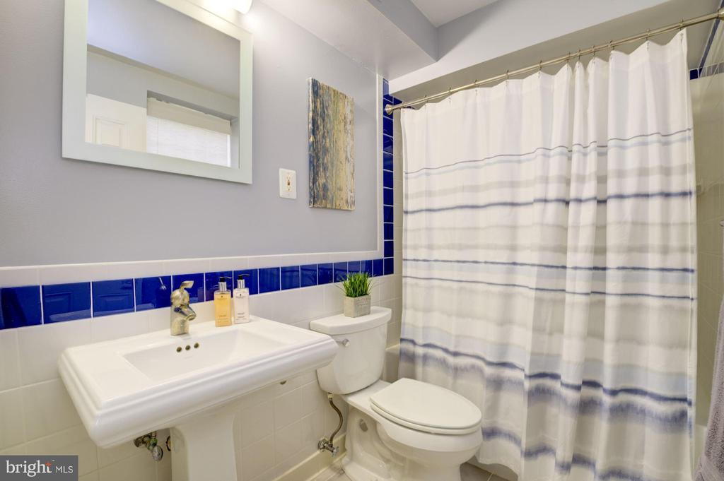 Lower Level Bathroom - 3740 39TH ST NW #B152, WASHINGTON