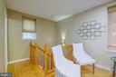 Main Level Staircase - 3740 39TH ST NW #B152, WASHINGTON