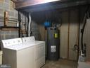 laundry room with lots of storage space - 11908 BARGATE CT, ROCKVILLE