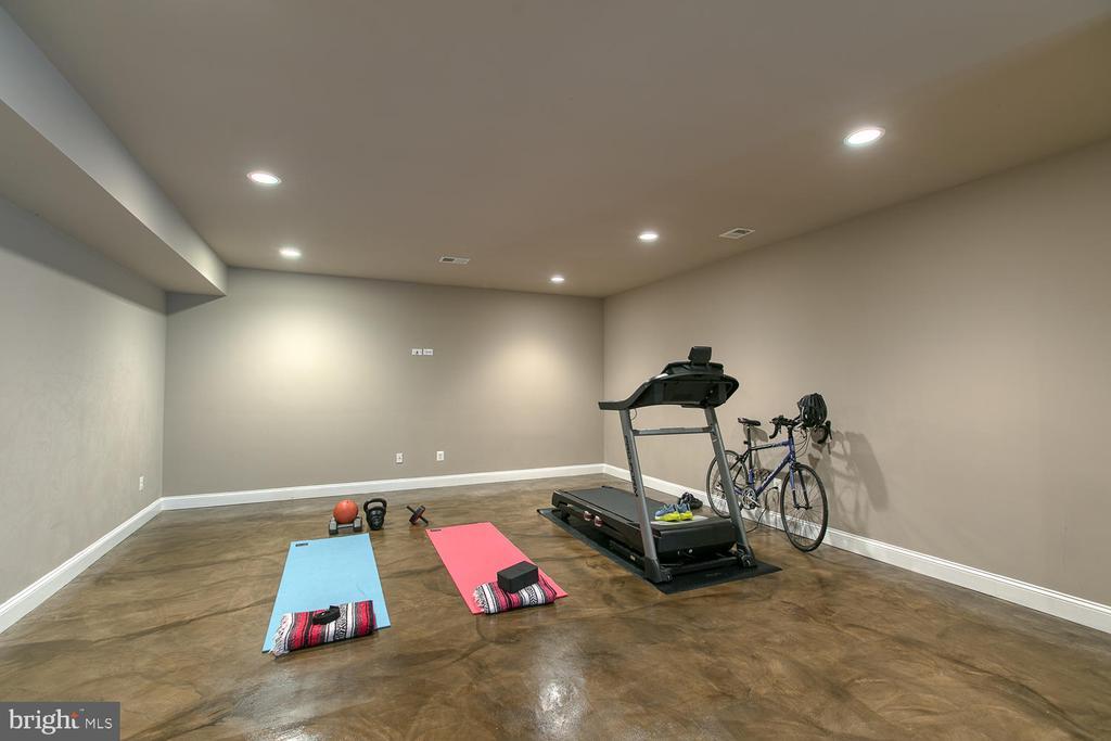 Exercise room/pool room - 3519 LAKE ST, FALLS CHURCH