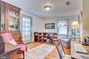 Upper level library/ofc, w/ doors to balcony - 300 W GERMAN ST, SHEPHERDSTOWN