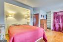 Bedroom, hardwood floors - 300 W GERMAN ST, SHEPHERDSTOWN