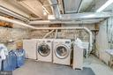 Basement laundry and storage area - 300 W GERMAN ST, SHEPHERDSTOWN