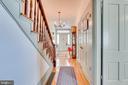 Main Level hallway to front entrance foyer - 300 W GERMAN ST, SHEPHERDSTOWN