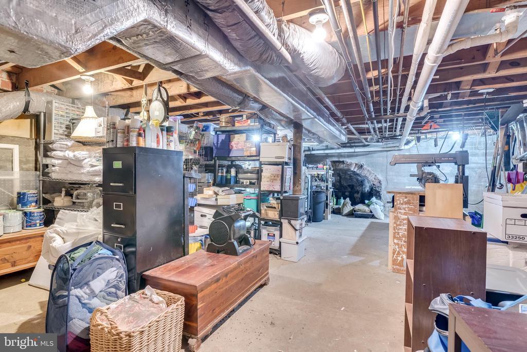 spacious basement storage areas - 300 W GERMAN ST, SHEPHERDSTOWN