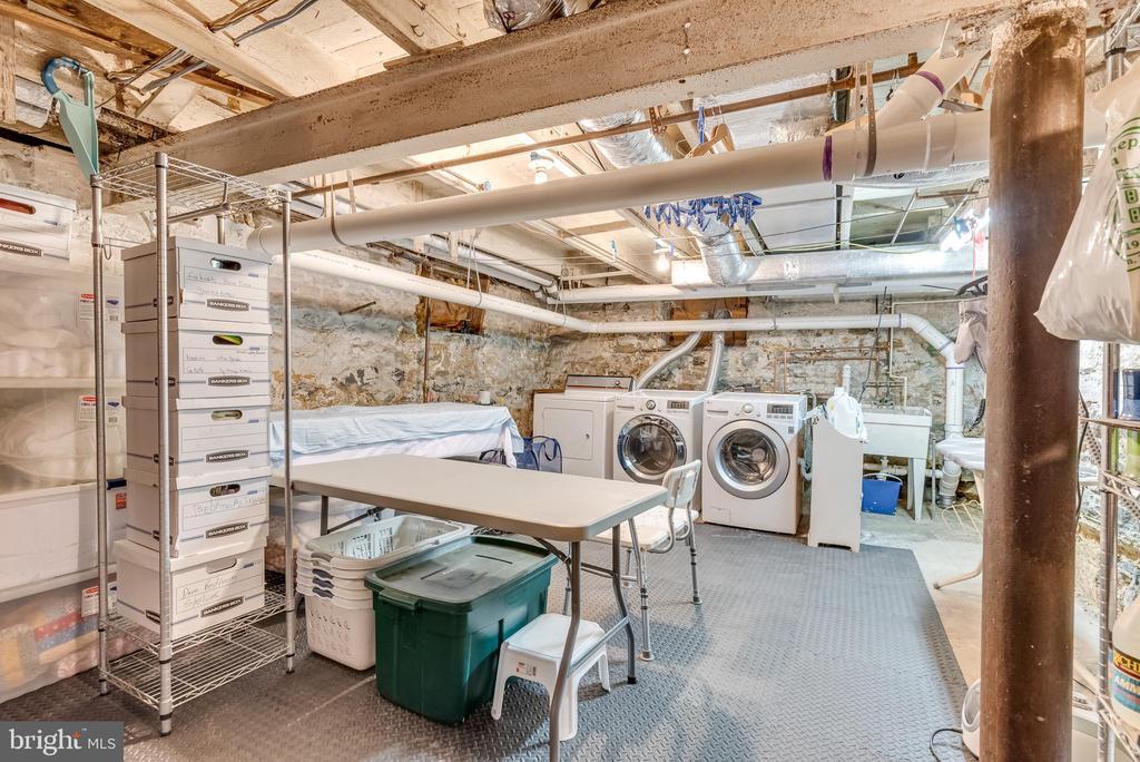 Basement laundry area , storage - 300 W GERMAN ST, SHEPHERDSTOWN