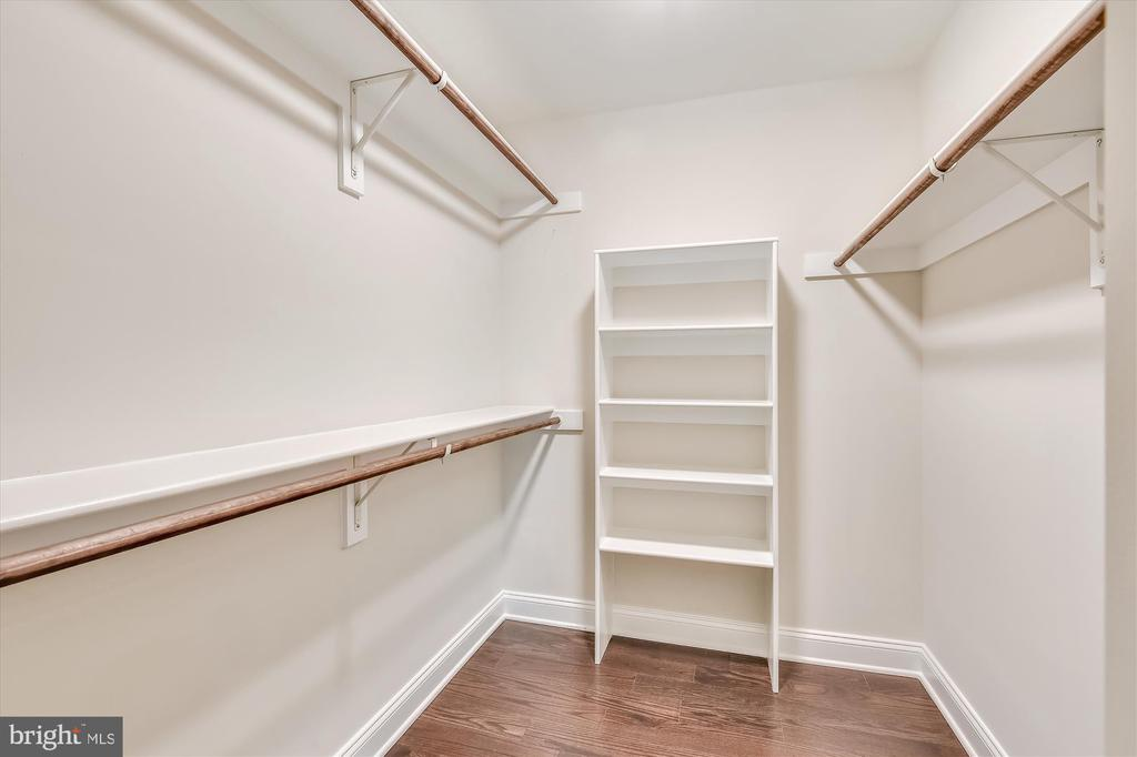 You'll love the walk-in closet - 2905 RANDOM RD, FALLS CHURCH