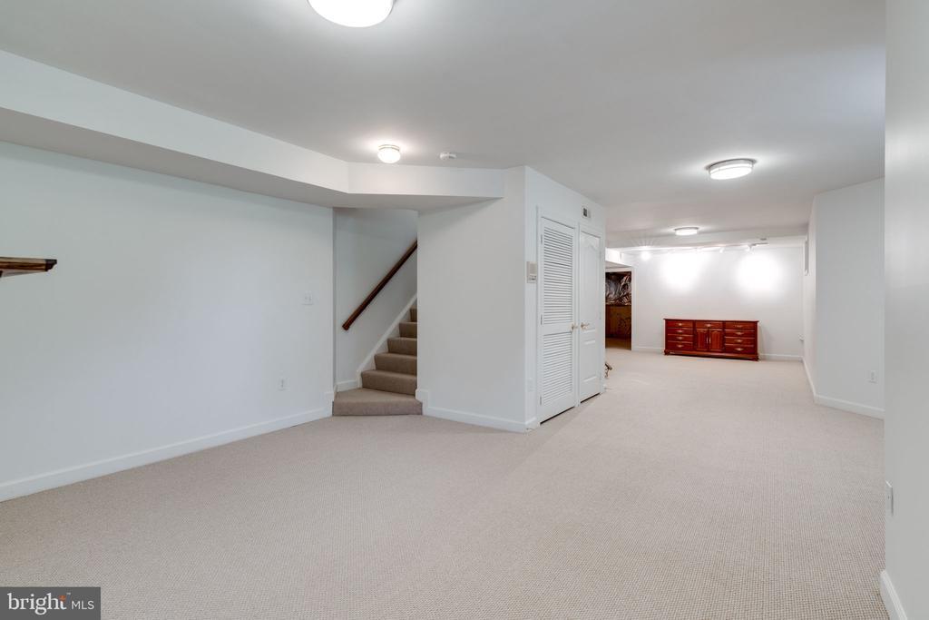 Basement - Recreation Room - 9413 ENGLEFIELD CT, FAIRFAX STATION