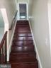 Hardwood stair - 1601 WOODHILL CT, LANDOVER