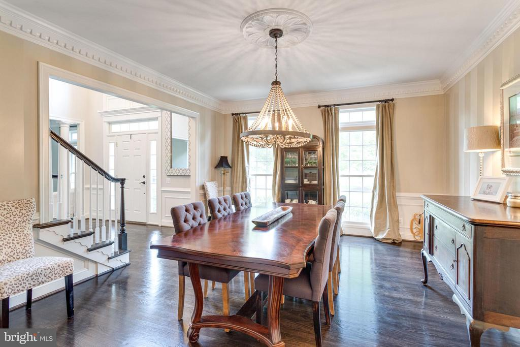 Formal dining room. - 2796 MARSHALL LAKE DR, OAKTON