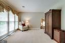 Owner's suite sitting room. - 2796 MARSHALL LAKE DR, OAKTON
