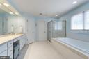 Expansive Owner's Bath. - 2796 MARSHALL LAKE DR, OAKTON