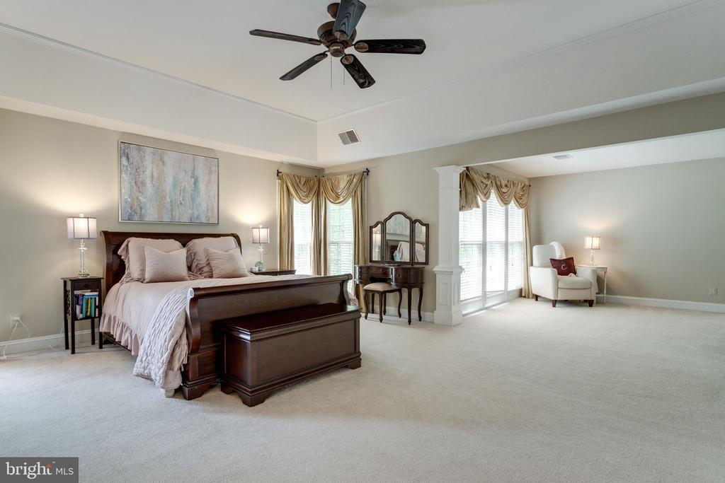 Owner's suite has tray ceiling. - 2796 MARSHALL LAKE DR, OAKTON