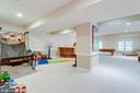 Lower level game room. - 2796 MARSHALL LAKE DR, OAKTON