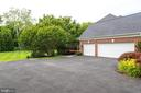 3-car side entry garage. - 2796 MARSHALL LAKE DR, OAKTON