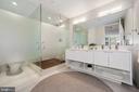 Spa-inspired Waterworks master bath - 1111 24TH ST NW #42, WASHINGTON