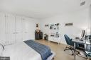 Spacious second bedroom with double closets - 1111 24TH ST NW #42, WASHINGTON