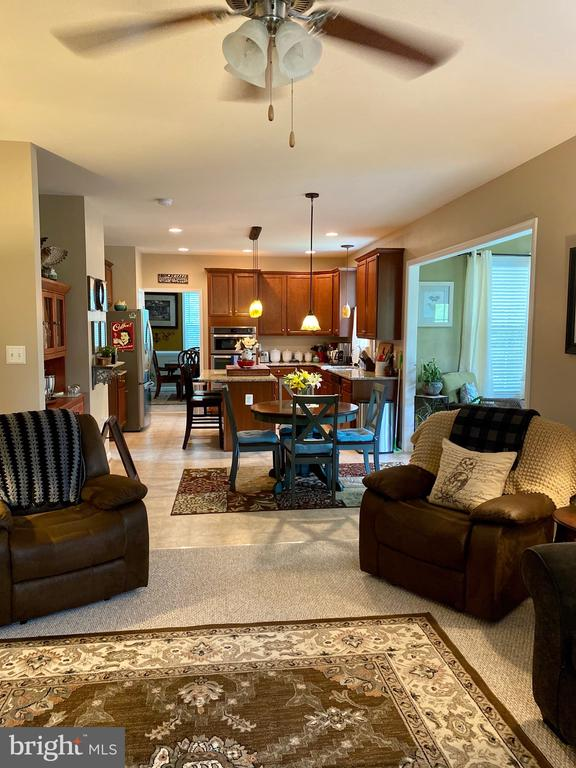 Open floor plan - 3545 GROUSE POINTE DR, STAFFORD