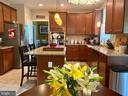 Spacious gourmet kitchen - 3545 GROUSE POINTE DR, STAFFORD