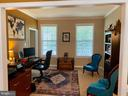 Spacious Study or sitting room - 3545 GROUSE POINTE DR, STAFFORD