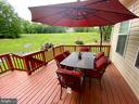 Entertain on the deck - 3545 GROUSE POINTE DR, STAFFORD