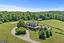 Aerial of front of house - 20634 ST LOUIS RD, PURCELLVILLE