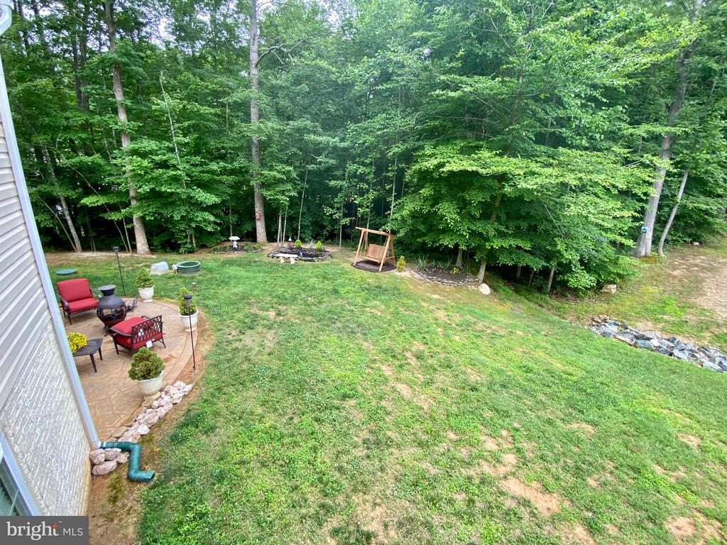 View from the deck - 3545 GROUSE POINTE DR, STAFFORD