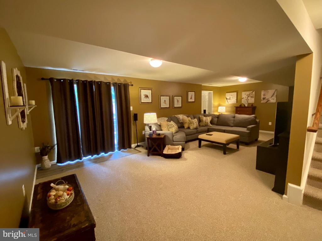 Spacious Recreational room - 3545 GROUSE POINTE DR, STAFFORD