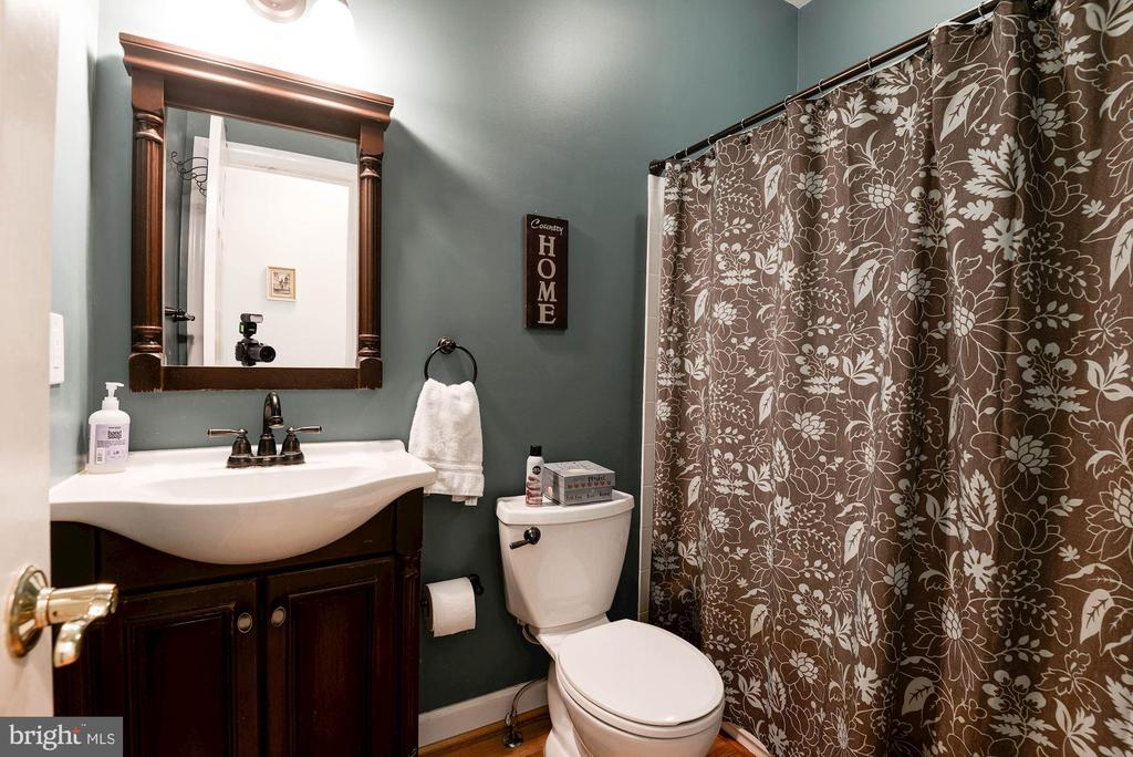 Full bathroom on main level - 20634 ST LOUIS RD, PURCELLVILLE