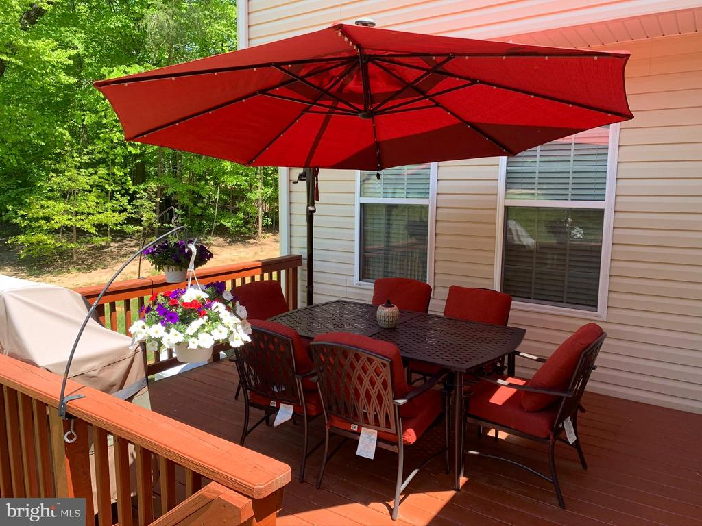 Deck - 3545 GROUSE POINTE DR, STAFFORD